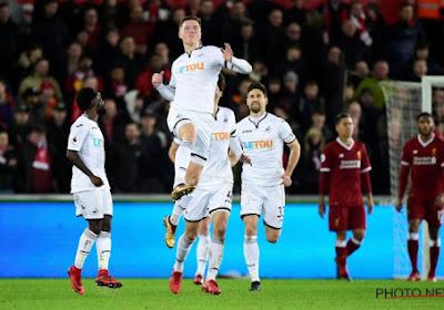 Après son exploit contre City, Liverpool craque à Swansea, la lanterne rouge du championnat