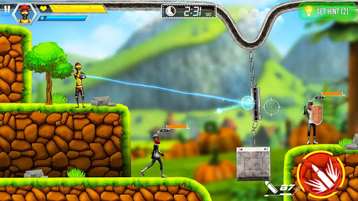 Stickman Reborn - Free Puzzle Shooting Games 2020 screenshots 16