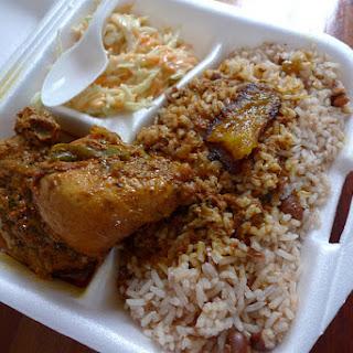 Poule en Sauce (stewed chicken)