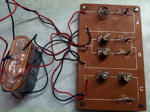 Photo: un circuito fatto da un papà