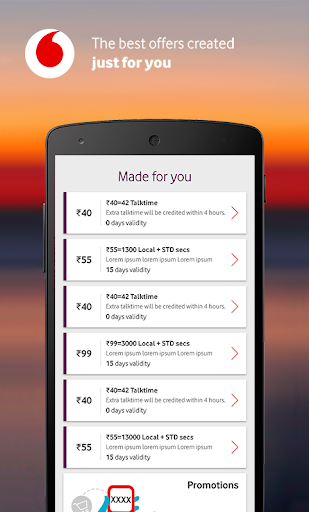 MyVodafone (India) - Recharge, Pay Bills & more.  screenshots 6