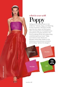 InStyle's Spring Color Guide 2014- screenshot thumbnail