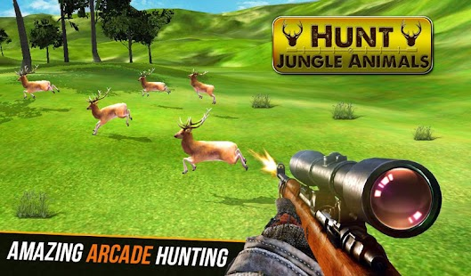 Hunt Jungle Animals - náhled
