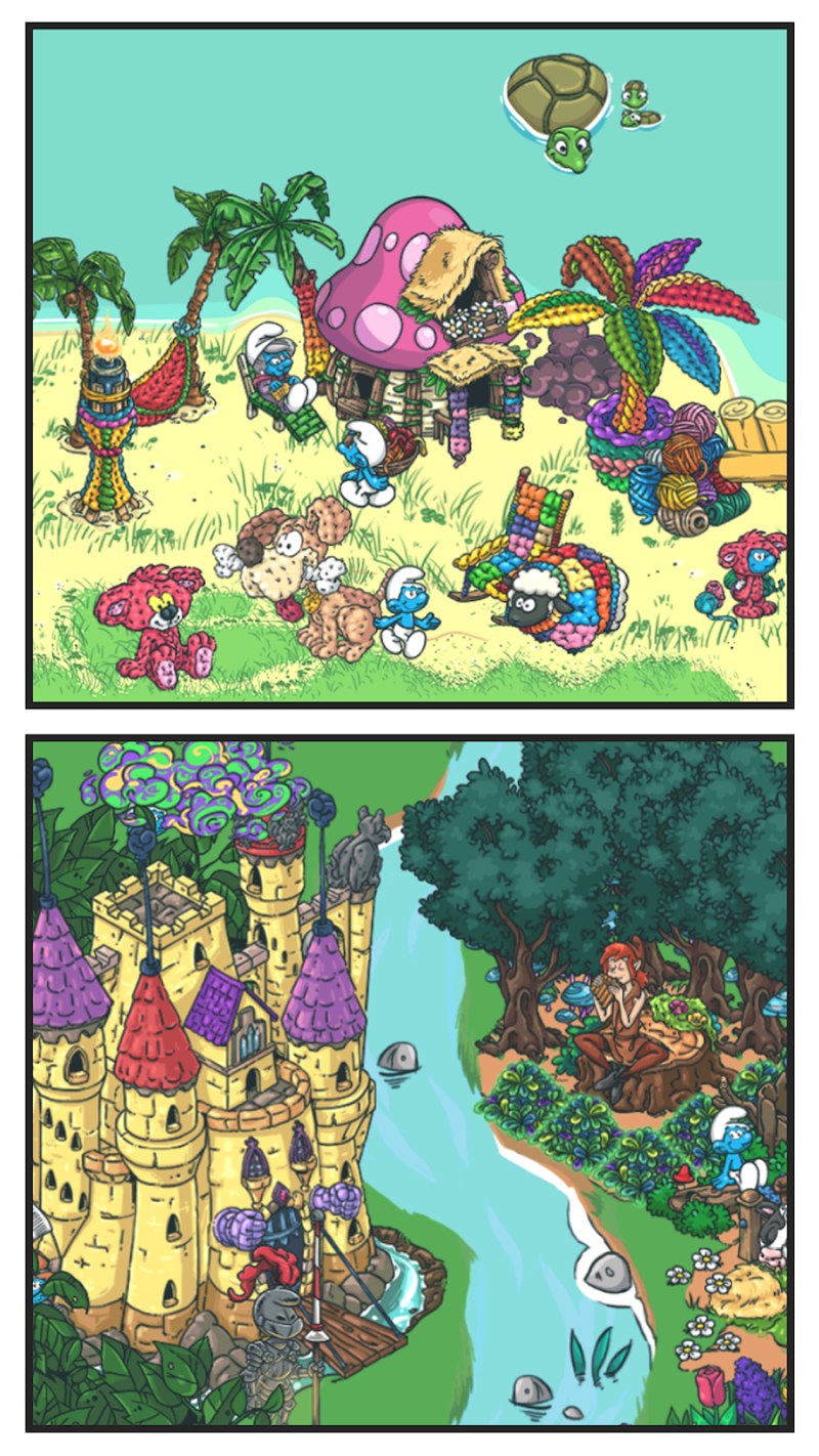 Smurfs' Village Screenshot 3