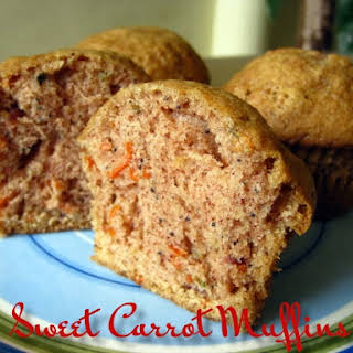 Sweet Carrot Muffins.