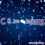 C,Java Programs Icon