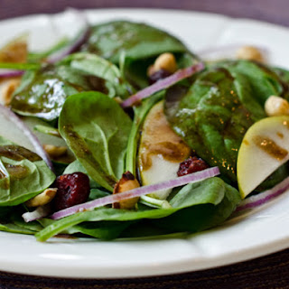 Baby Spinach Dressing Salad Recipes.