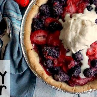 Vegan & Gluten-Free Berry Cobbler