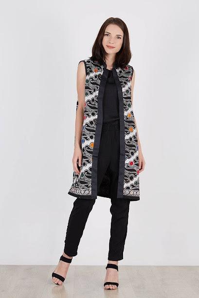 vest motif batik