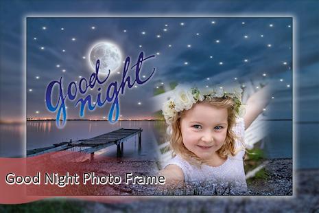Good Night Photo Frame