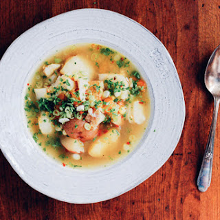 Cod and Corn Chowder