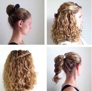 Curly Hair krok za krokem