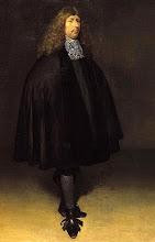 Foto: Gerard ter Borg genoemd de Jonge (Zwolle, december 1617 - Deventer, 8 december 1681), ook bekend onder de naam Gerard Terborch, was een Nederlands kunstschilder. Hij is vooral bekend door zijn kleine en galante genrestukken, maar schilderde ook portretten. Over zijn leven is meer bekend dan van menig ander schilder uit de 17e eeuw.