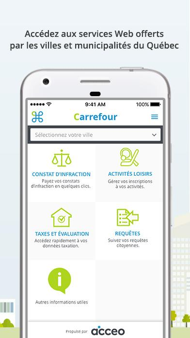 Carrefour citoyen- screenshot