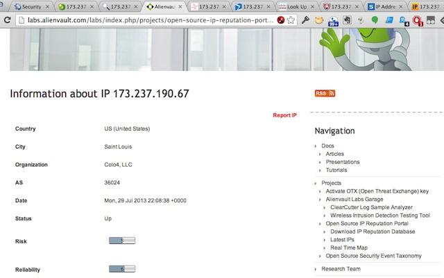 IP Intelligence Lookup
