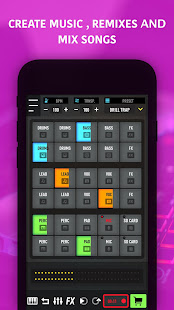 MixPads - Drum pad machine & DJ Audio Mixer