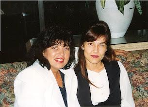 Photo: With Brazilian country singer Roberta Miranda - Miami