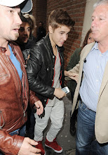 Photo: Pop star Justin Bieber is mobbed by female fans as he stops by the Kiss 100 Radio Station on April, 24, 2012 in London, UK.  RESTRICTIONS APPLY: USA/AUSTRALIA/NEW ZEALAND ONLY