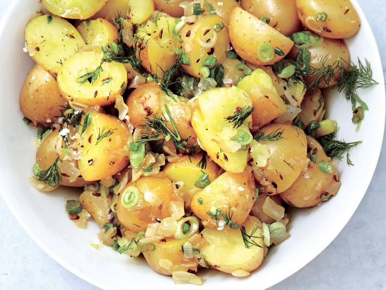 German Potato Salad Recipes Without Bacon