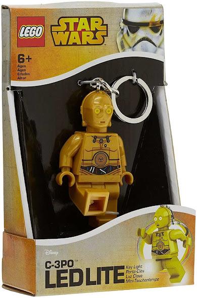 Imagen de contenido Llavero con Luz Led Lego® C-3PO