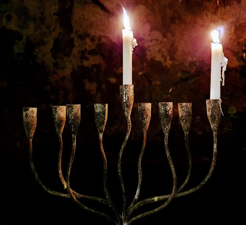 prima notte di Hanukkah di manuwanderer