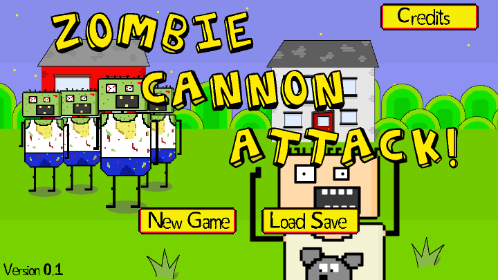 Zombie Cannon Attack!- screenshot