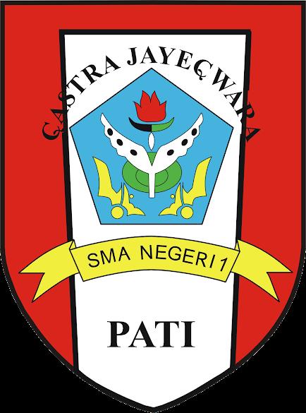 Logo SMA N 1 Pati, Castra Jayecwara (Format PNG Transparan)