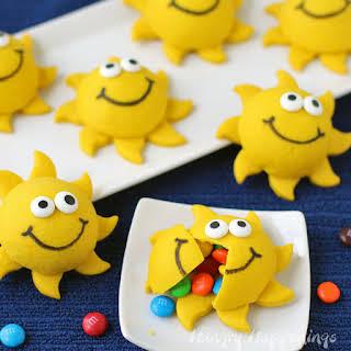 DIY Piñata Sunshine Sugar Cookies.
