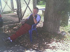 Photo: Un merecido descanso.