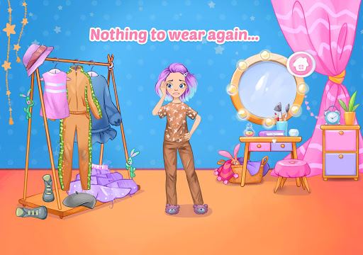 Fashion Dress up games for girls. Sewing clothes screenshots 5