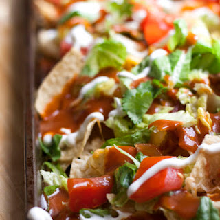 Bacon Barbecue Nachos #SundaySupper