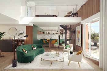 Appartement 3 pièces 58,13 m2
