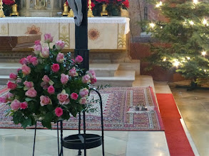 Photo: Und vor dem Kreuz.