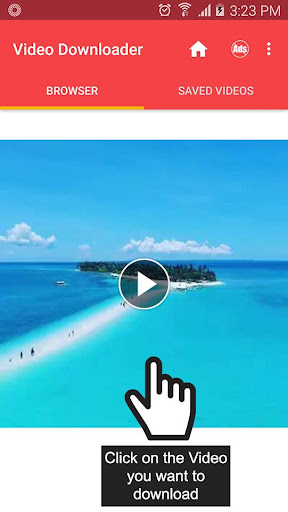 FVD: Video Downloader for Facebook 1.2.3 screenshots 1