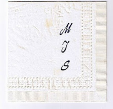 Photo: An MTS Cocktail Napkin, likely from one of the MTS workshops, scan courtesy Gerry Gabel