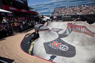 Photo: Mini boost + concrete park at X Games 17!