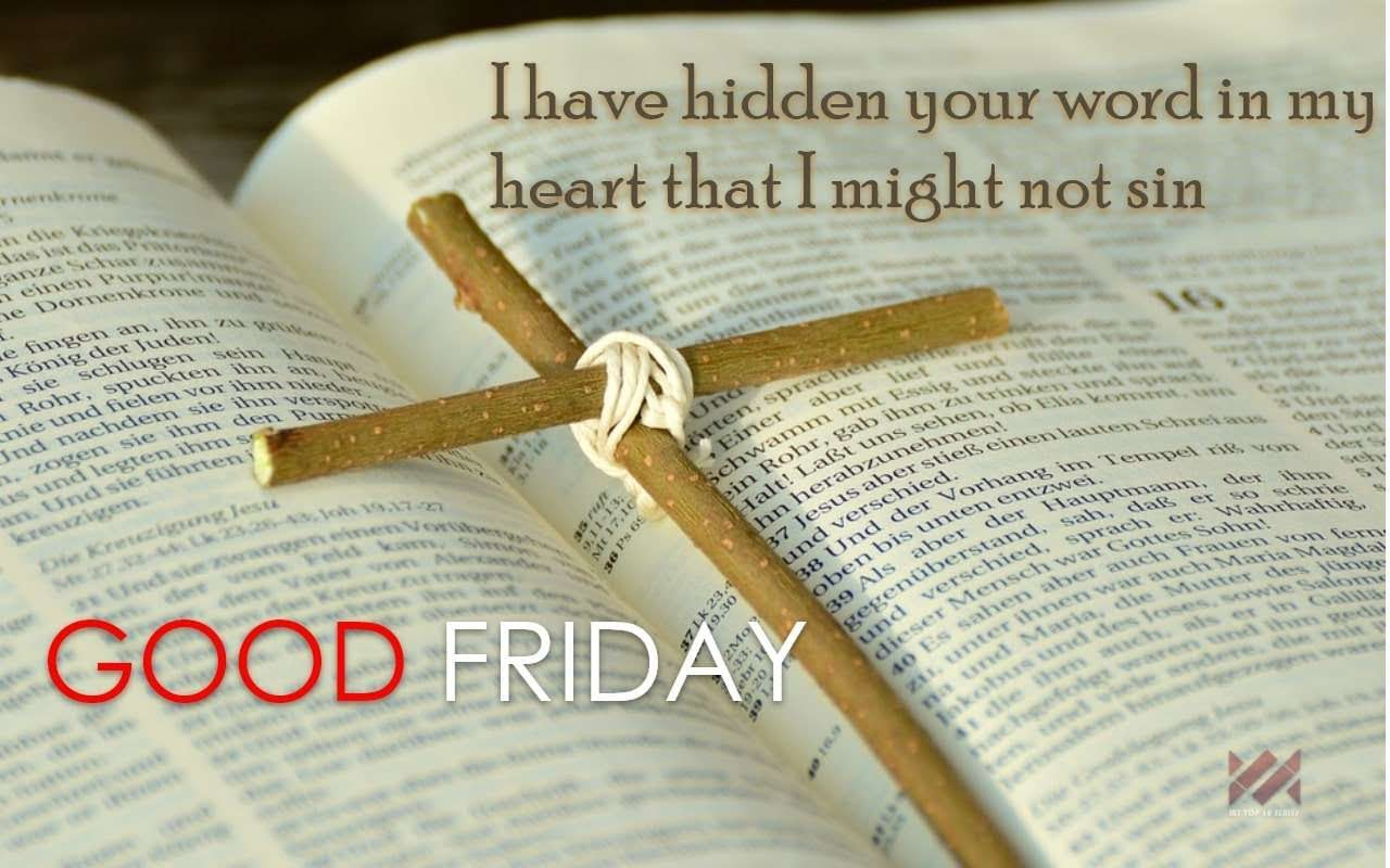 good friday 2018 message #2