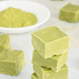 Green Tea Fudge