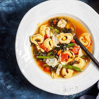 30-Minute Tortellini Vegetable Soup.
