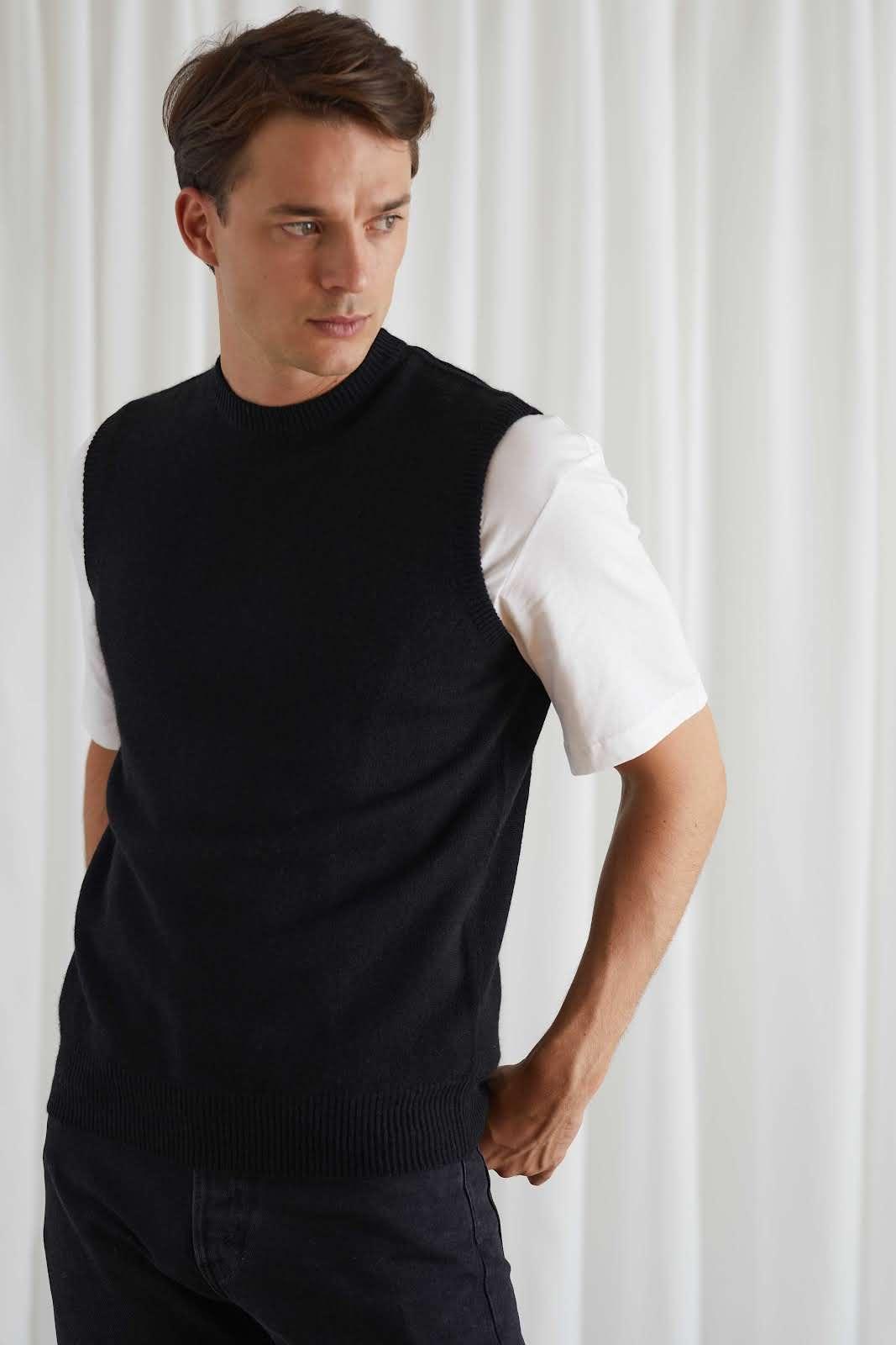 Man Classic O-neck Vest