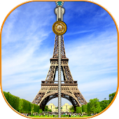 Paris Zipper Screen Lock HD