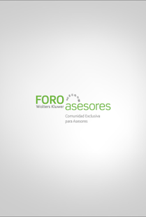 Foro Asesores Wolters Kluwer- screenshot thumbnail