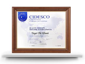 CIDESCO Diploma