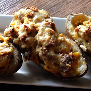 Potato Breakfast Boats.