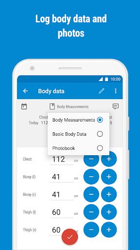 GymRun Workout Log & Fitness Tracker screenshots 7