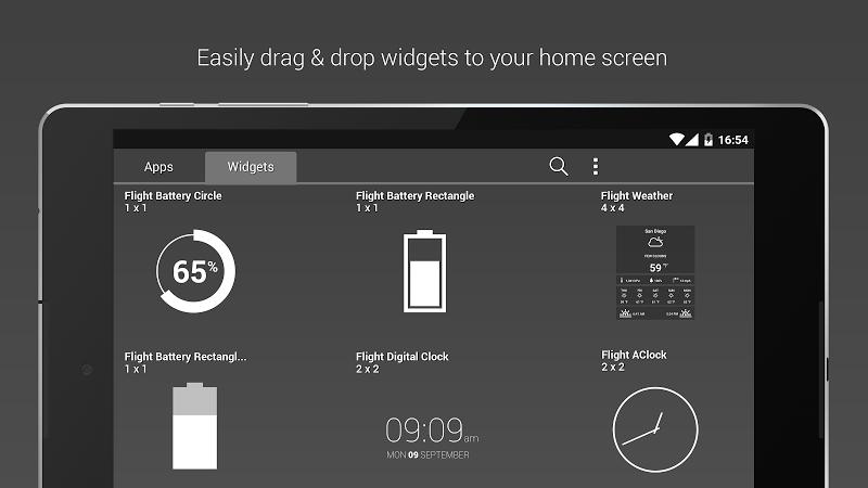 Flight - Flat Minimalist Icons (Pro Version) Screenshot 15