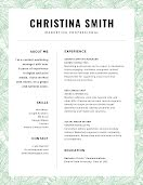 Christina J. Smith - Resume item