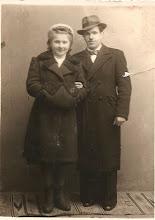 Photo: 07 Bronisława Mendocha z mężem Franciszkiem Bocheńskim