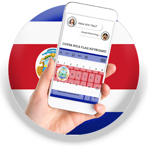 Costa Rica Flag Keyboard - Elegant Themes APK Download for Android