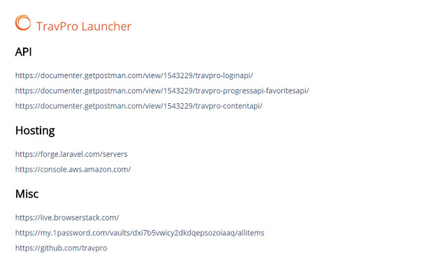 TravPRO Launcher